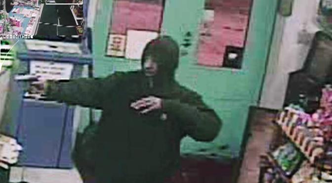 Owner, robber trade gunfire at Cleveland food mart