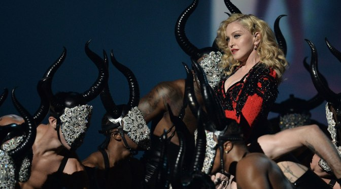 Watch Madonna Perform Her New Single Live for the First Time at the Grammys