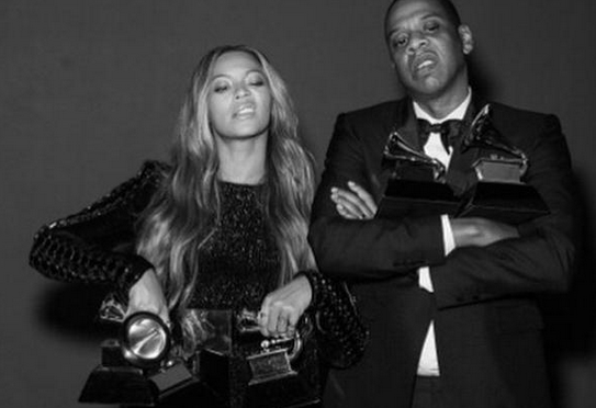 Beyonce & Jay Z Mean Mug With Their Grammys & Blue Ivy Shares The Cutest Moment With Rihanna (PHOTOS)