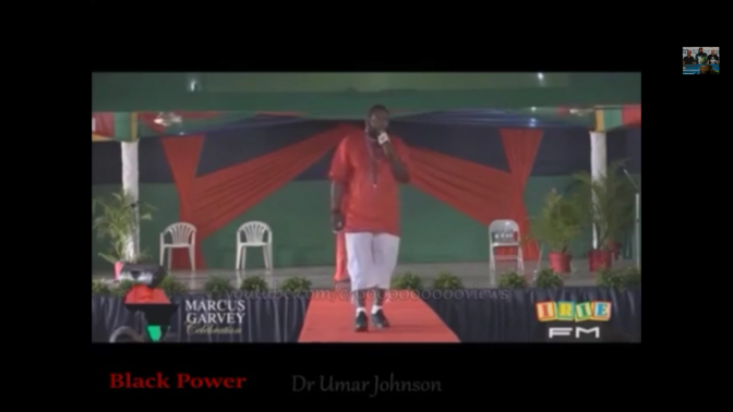 Dr. Umar Johnson Speaks to Jamaicans About the Upbringing of Children (In Remembrance of Marcus Mosiah Garvey)