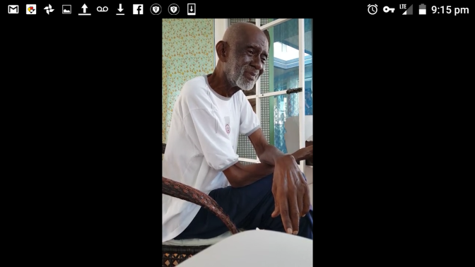 Just Before His Passing!  Dr. Sebi Speaks to his Patients at Usha Village