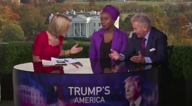 Novelist,  Chimamanda Ngozi Adichie Brilliantly Shuts Down Trump Supporter Who Denies Trump's Racism