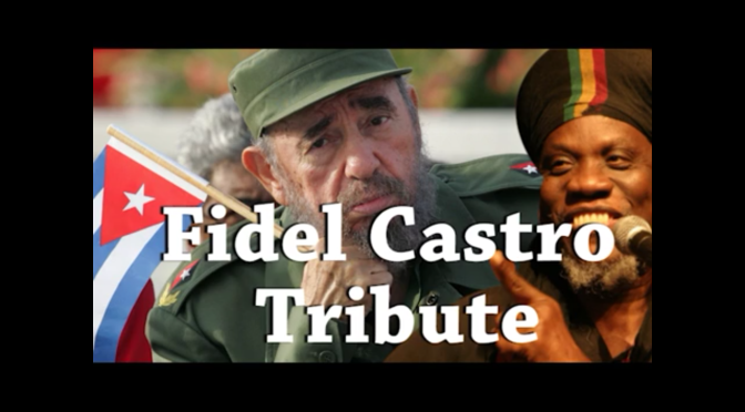 Mutabaruka Does a Tribute Show to the Late Fidel Castro